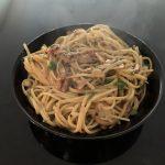 Tasty Bacon and Garlic Pasta