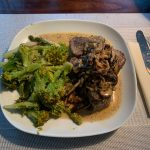 Pork Tenderloin with Mushroom Sauce